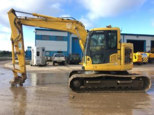 Komatsu PC138US 40386 13 Ton Excavator For Sale 1