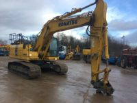 Komatsu PC210LC K70350 Excavator for sale 1