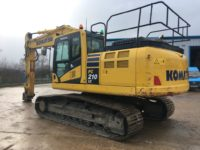 Komatsu PC210LC K70350 Excavator for sale 2