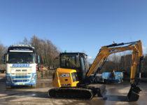 New JCB 57C at Ridgway Mini Digger Contract Hire