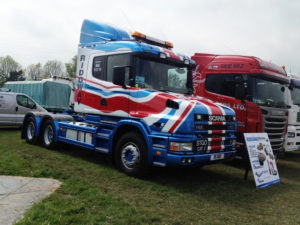 Ridgway Plant Haulage Bully at Truck Show