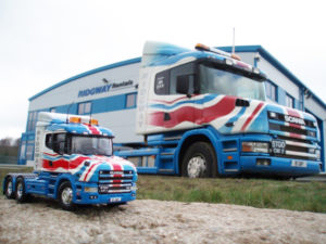 Ridgway Plant Haulage Bully model