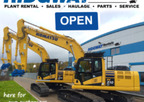 Ridgway Open for Plant Hire for Essential Services