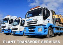 plant transport services at Ridgway
