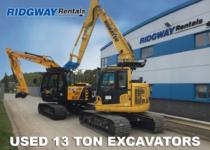 13 Ton Excavators For Sale at Ridgway