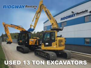 13 Ton Excavators For Sale at Ridgway