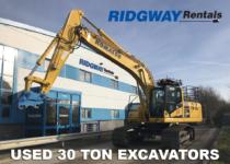 30 Ton Excavators For Sale at Ridgway