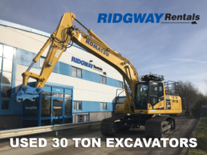30 Ton Excavators For Sale at Ridgway