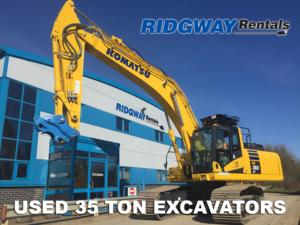 35 Ton 360 Excavators For Sale at Ridgway