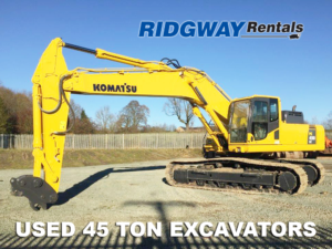 45 Ton Excavators For Sale