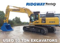50 Ton Excavators For Sale