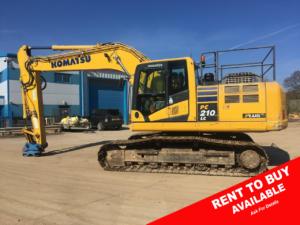 Komatsu PC210LC 10 20 Ton Excavator For Sale K60951 1