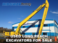 Long Reach Excavators for sale at Ridgway