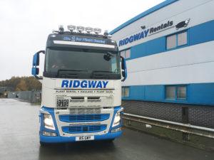 Ridgway Plant Transport History new volvo