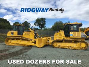 Komatsu Dozer Sales at Ridgway Used Plant Sales