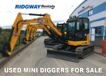 Used Mini Digger For Sale at Ridgway