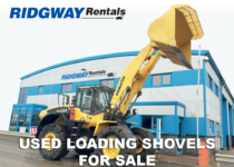 wheeled loading shovels for sale