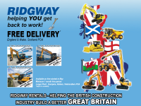 Back to Work Plant Hire Offers at Ridgway