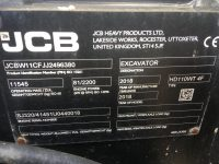 JCB 110W Hydradig Wheeled Excavator For Sale 96380
