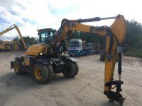 JCB 110W Hydradig for sale with 2 piece boom 96380