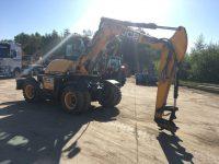 JCB 110W Hydradig wheeled excavator 96284