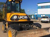 JCB 110W Wheeled Excavator For Sale 96284