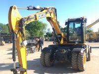 JCB wheeled excavator for sale 110W Hydradig 96284 2