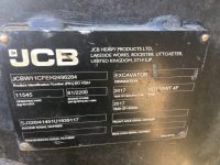 JCB wheeled excavator for sale 96284