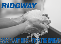 Safe Plant Hire during Coronavirus at Ridgway