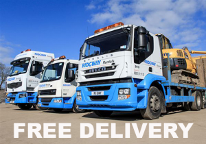 free delivery on plant hire