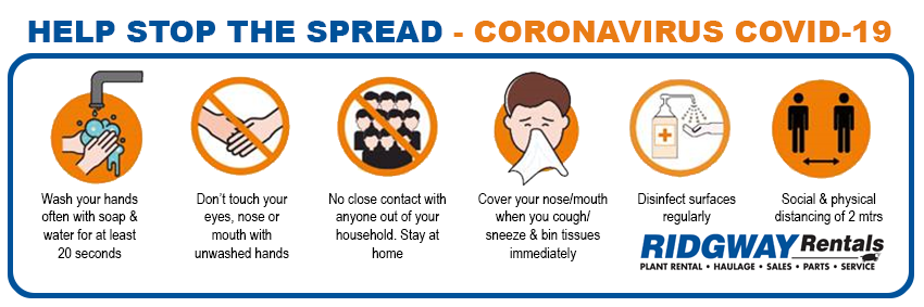 stop the spread or coronavirus
