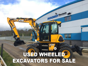 used wheeled exacator for sale at Ridgway Used Plant Sales
