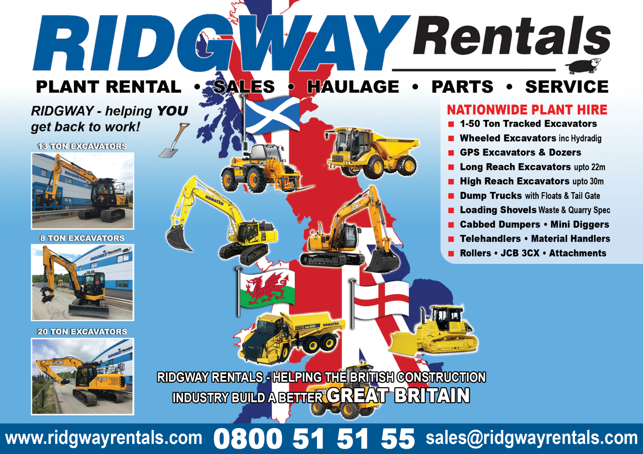 Ridgway Plant Hire Offers