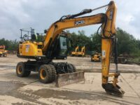 JCB JS145W Duck For Sale 6064 4