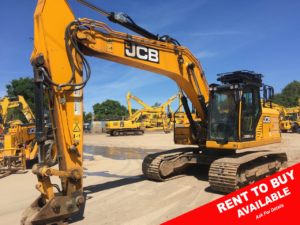 JCB JS220X 20 ton excavator for sale 500168 r2b