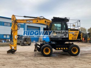 JS145W Wheeled Excavator For Sale feature 2476059