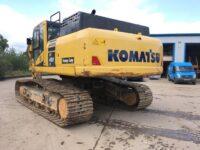 Komatsu P490 excavator rear view - 0156