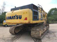 Komatsu PC490 excavator rear camera - 0156