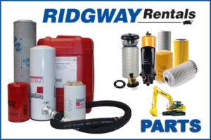 Ridgway excavator parts for sale