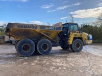 HM300 Dump Truck right side view 10488