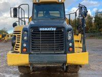 HM300 Dump Truck front view 10488