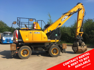 JCB 20MH waste handler for sale 49266 r2b