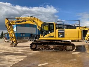 Komatsu 360 For Sale K60483 side view