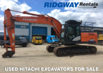 Used Hitachi Excavators For Sale at Ridgway