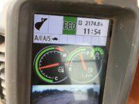 ZX130 Hitachi operating monitor 3032