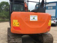 Hitachi 13 ton excavator for sale - rear view 3032