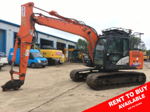 ZX130 Hitachi 13 ton excavator for sale 3032