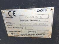 ZX130 Hitachi CE Certs 3032