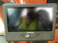 ZX130 Hitachi dash mounted monitor 3032