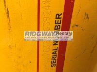 JCB 540 200 3924 ID Plate